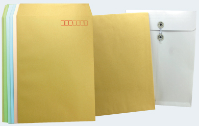 郵送用封筒について